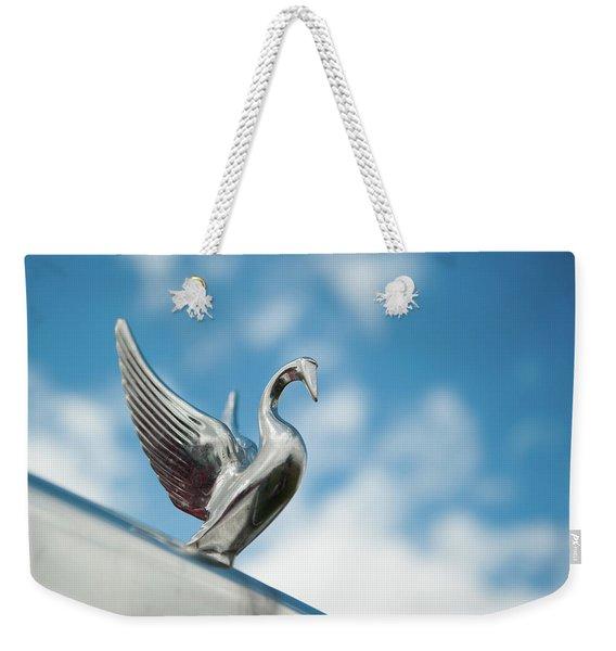 Chrome Swan Weekender Tote Bag