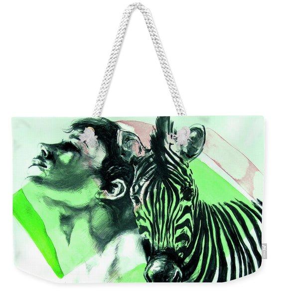 Chronickles Of Zebra Boy   Weekender Tote Bag