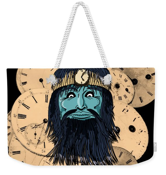 Chronos Weekender Tote Bag