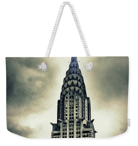 Chrysler Building Weekender Tote Bag