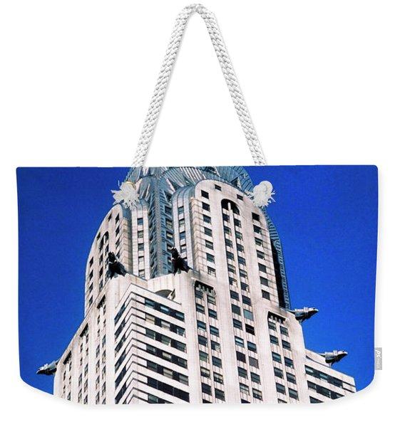 Chrysler Building Weekender Tote Bag