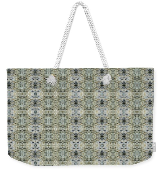 Weekender Tote Bag featuring the mixed media Chuarts Epic 160bb By Clark Ulysse by Clark Ulysse