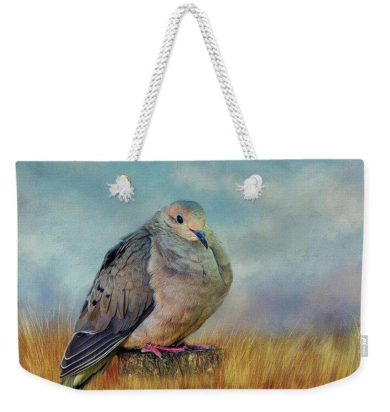 Chubby Dove Weekender Tote Bag