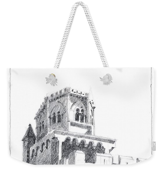 Church At Chamalieres Weekender Tote Bag