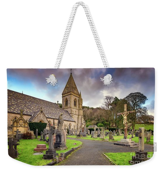 Church At Pantasaph Weekender Tote Bag