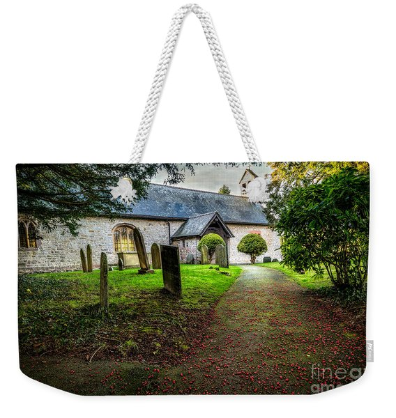 Church Berries Weekender Tote Bag