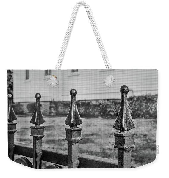 Church Fence Weekender Tote Bag