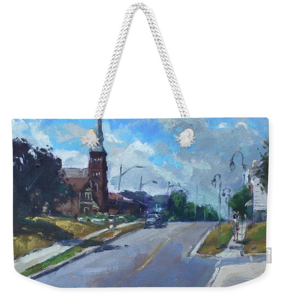 Church In Georgetown Downtown  Weekender Tote Bag