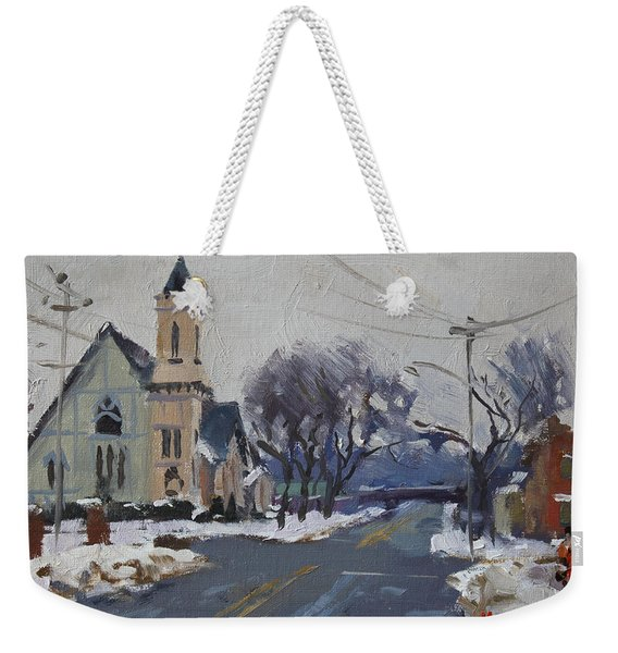 Church In North Tonawanda Weekender Tote Bag