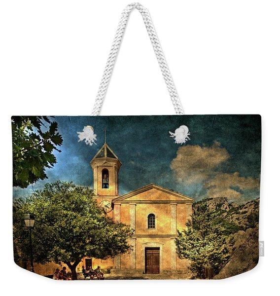Church In Peillon Weekender Tote Bag