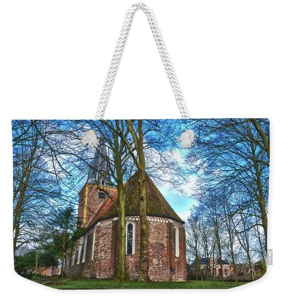 Church In Winsum Weekender Tote Bag