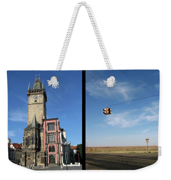 Church Weekender Tote Bag