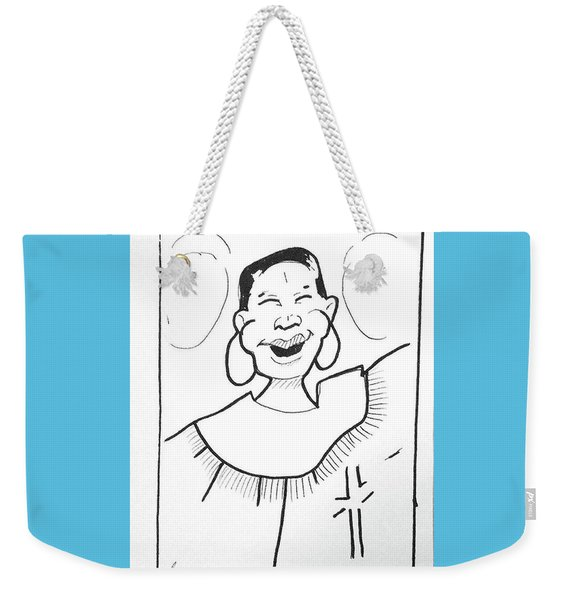 Church Lady 2 Weekender Tote Bag
