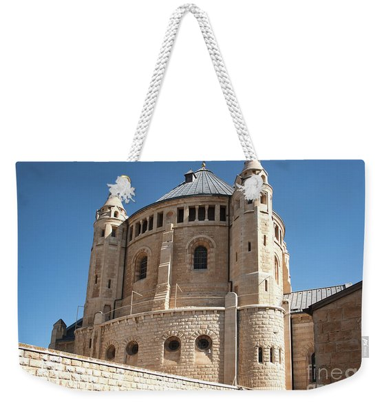 Weekender Tote Bag featuring the photograph Church Of The Dormition by Mae Wertz