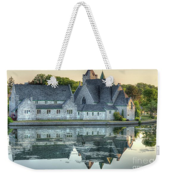 Church Reflection Weekender Tote Bag
