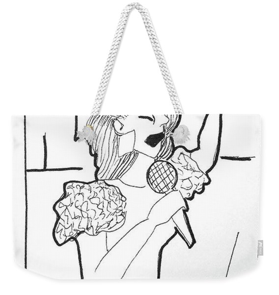 Church Singer Weekender Tote Bag