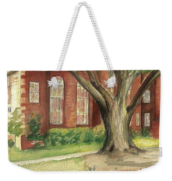 Church Tree Weekender Tote Bag