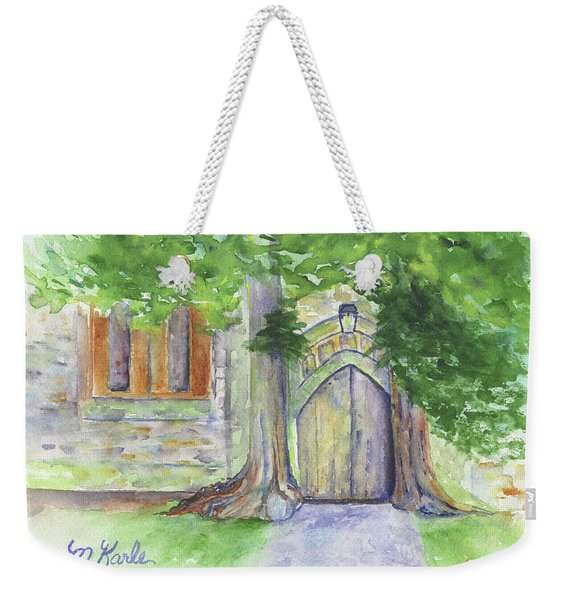 Church Trees Weekender Tote Bag
