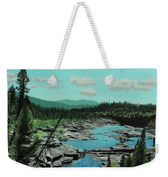 Churchill River Weekender Tote Bag