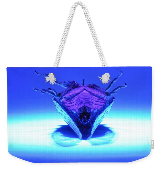 Cicada In Uv Weekender Tote Bag