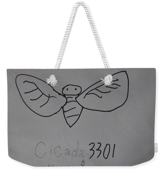Cicada3301 Weekender Tote Bag