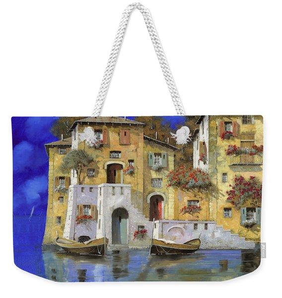 Cieloblu Weekender Tote Bag