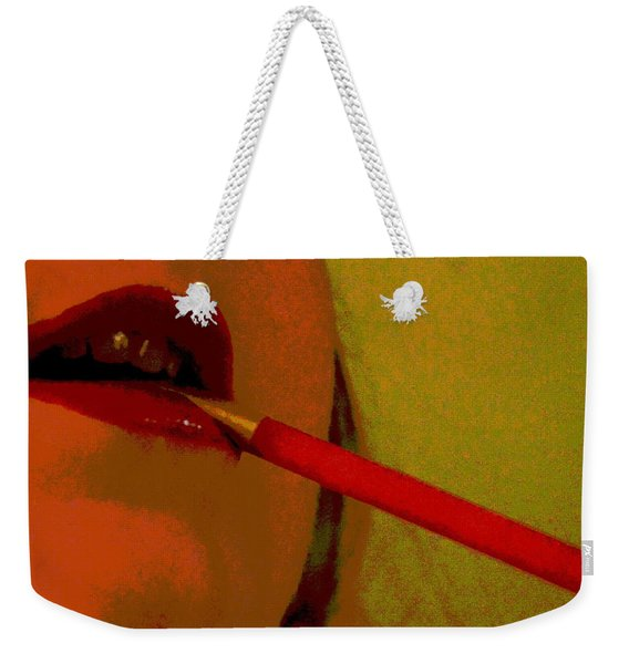 Cigarette Break Weekender Tote Bag