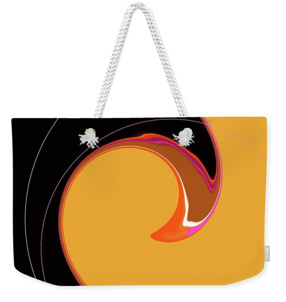 Weekender Tote Bag featuring the digital art Summer Chic 1960 by Gina Harrison