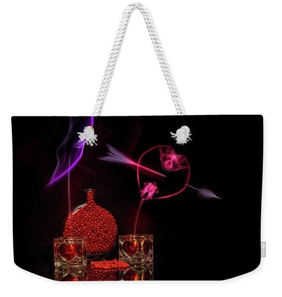 Cinnamon Hearts Weekender Tote Bag