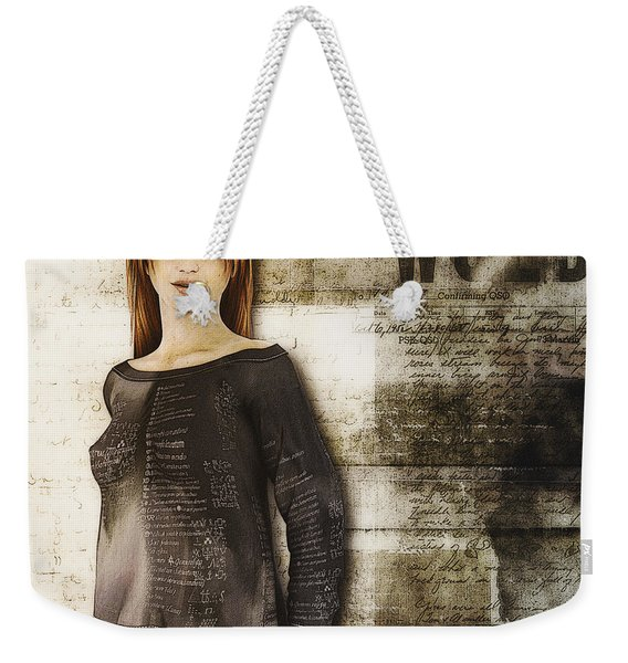 Cindy Weekender Tote Bag