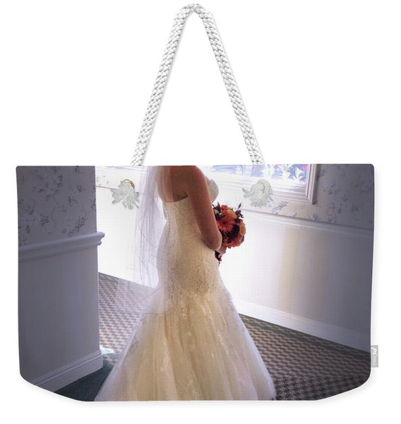 Cindy Sue Gets Married Weekender Tote Bag