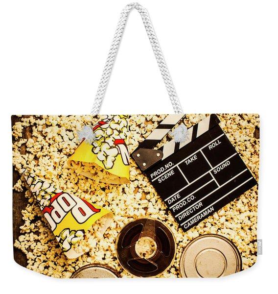 Cinema Of Entertainment Weekender Tote Bag