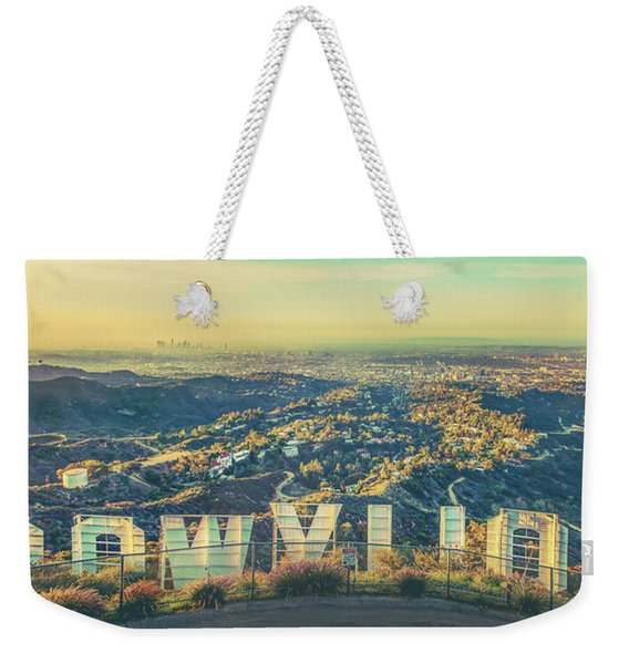 Cinematic Weekender Tote Bag