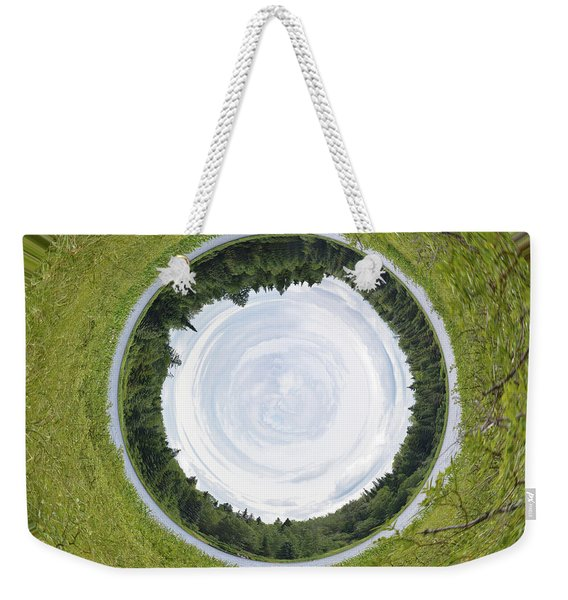 Circle Lake... Weekender Tote Bag