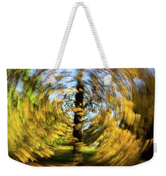 Circle Weekender Tote Bag
