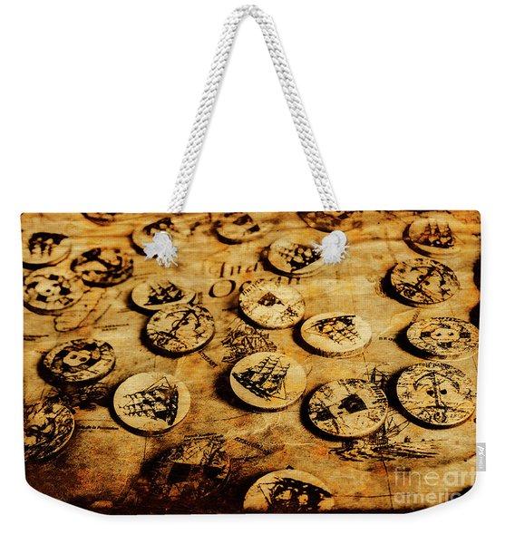 Circle Sails Weekender Tote Bag
