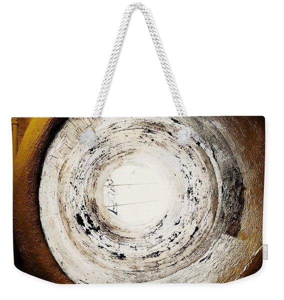 Circle Vent Weekender Tote Bag
