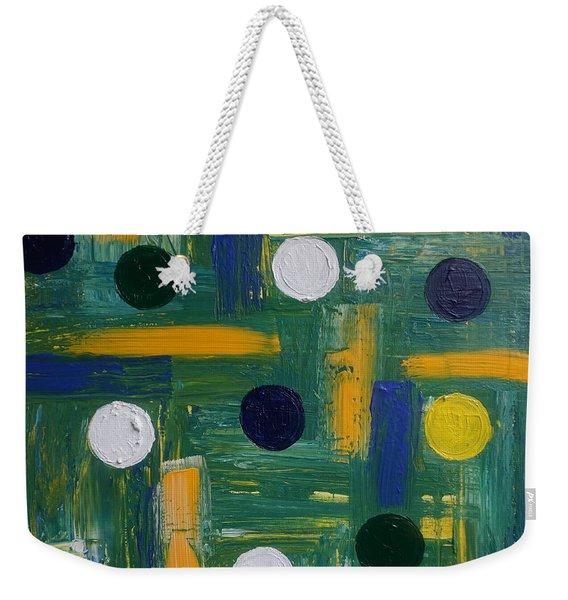 Circles Weekender Tote Bag