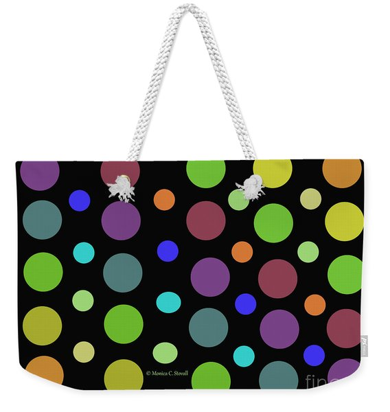 Circles N Dots C21 Weekender Tote Bag