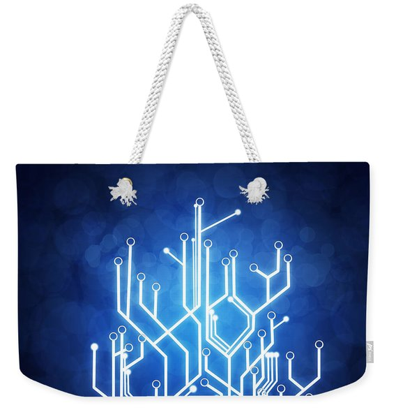 Circuit Board Technology Weekender Tote Bag