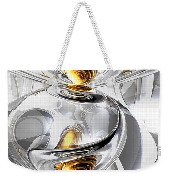 Circumvoluted Abstract Weekender Tote Bag