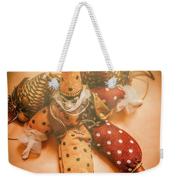 Circus Stage Spotlight Weekender Tote Bag