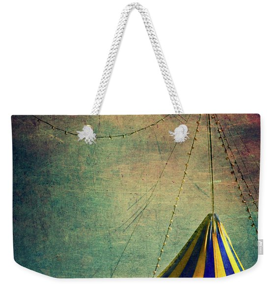Circus With Distant Ships II Weekender Tote Bag