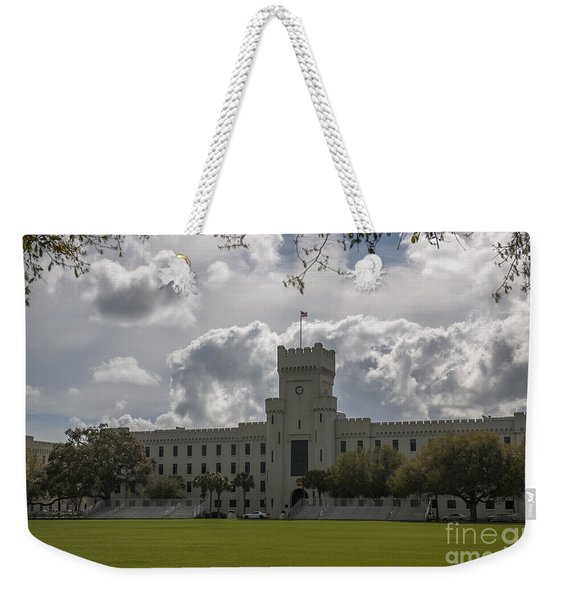 Citadel Military College Weekender Tote Bag