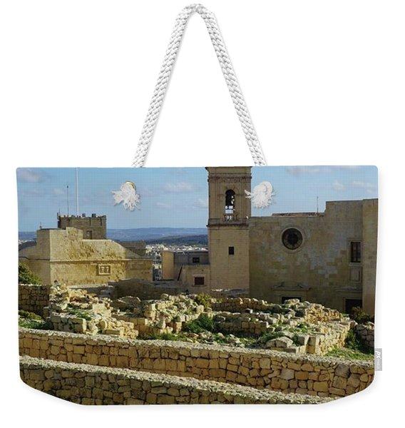 #citadella #malta Weekender Tote Bag