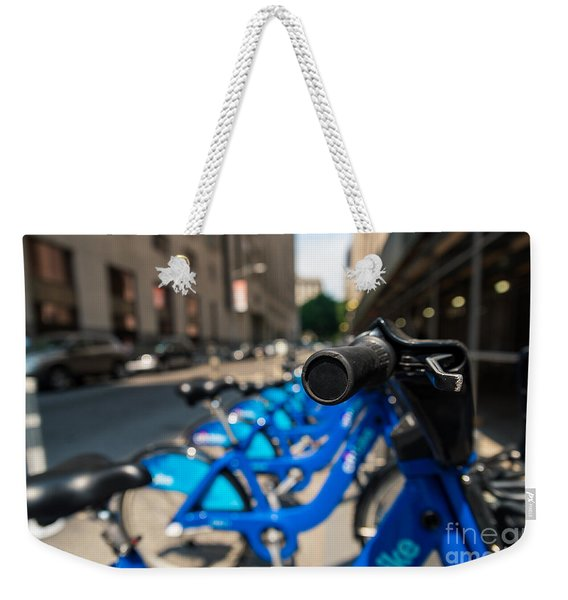 Citibike Handle Manhattan Color Weekender Tote Bag