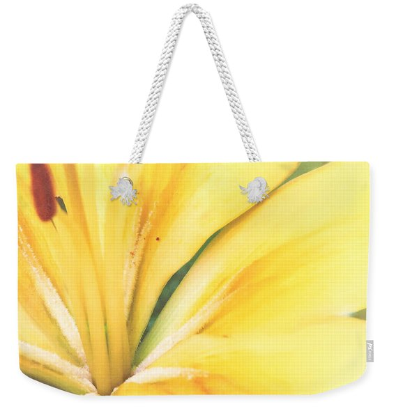 Citrine Blossom Weekender Tote Bag