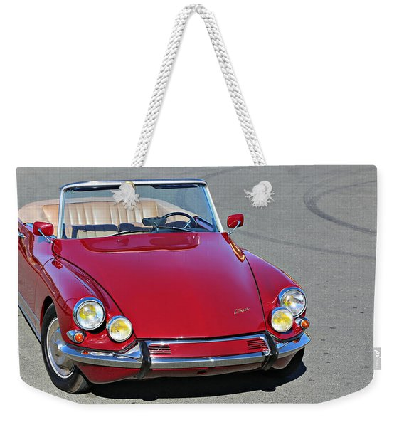 Citroen Ds19 Cabriolet  Weekender Tote Bag