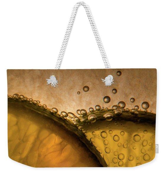 Citrus Abstract Weekender Tote Bag
