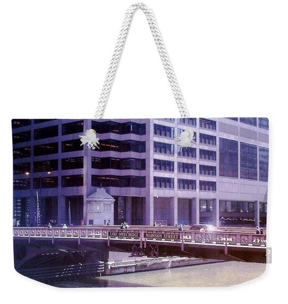 City Bridge Weekender Tote Bag